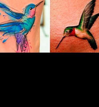 Tatuajes de colibri