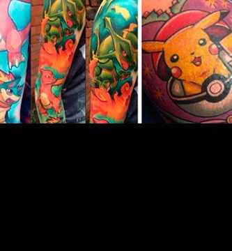 Tatuajes de Pokemon